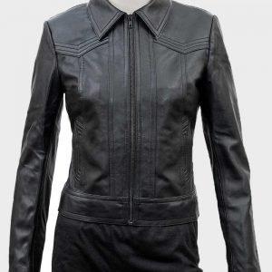 Ambyr Childers You Season 02 Candace Stone Leather Jacket