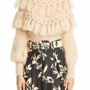 Shop Zimmermann Ladybeetle Tassel Mohair & Silk Sweater | Sale Price
