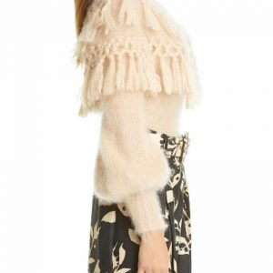 Zimmerman Ladybeetle Tassel Mohair & Silk Sweater