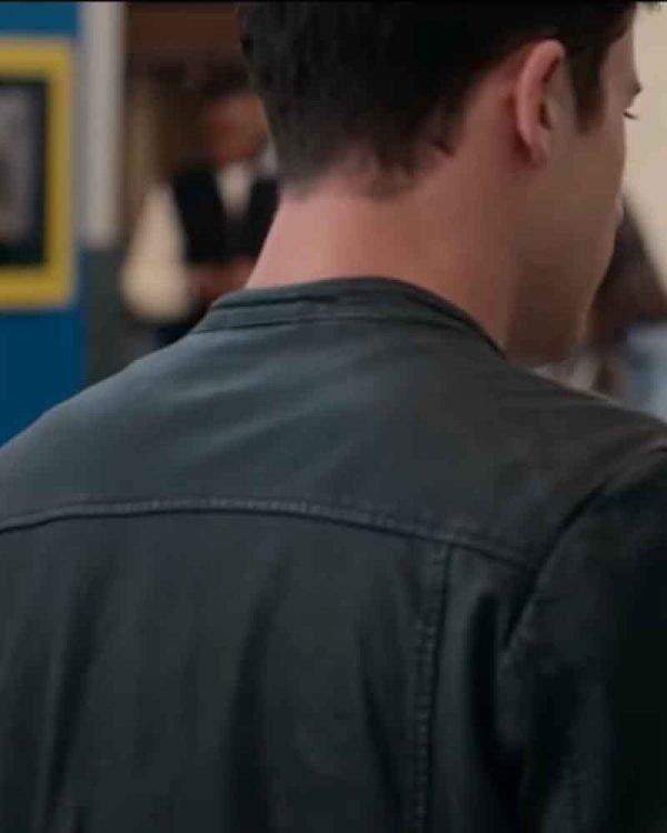 Dylan Minnette Leather Jacket
