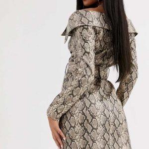 Zoey's Extraordinary Playlist Mo Snake Skin Dress