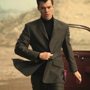 TV Series Pennyworth Alfred Pennyworth Black Blazer