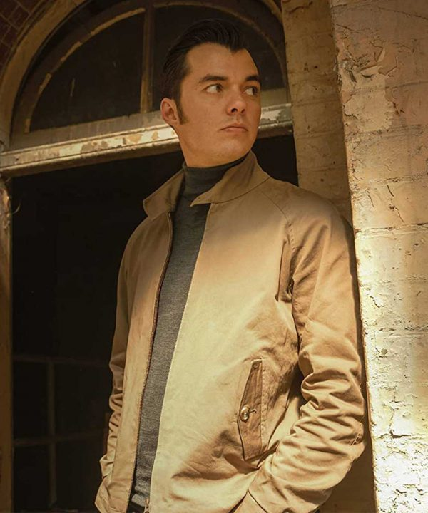 Alfred Pennyworth Brown Cotton TV Series Pennyworth Jack Bannon Jacket