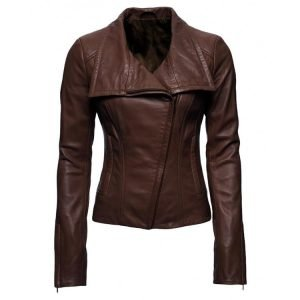 Lyla Michaels Leather Jacket - TV Series Arrow Audrey Marie Anderson
