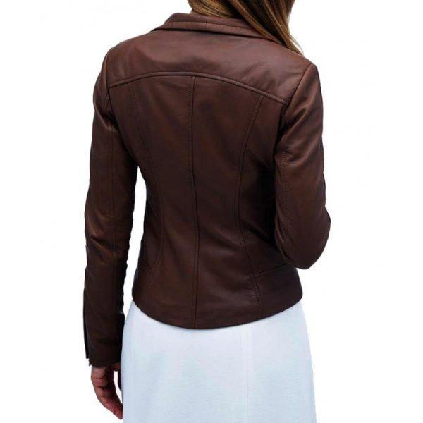 Audrey Marie Anderson Arrow Lyla Michaels Leather Jacket