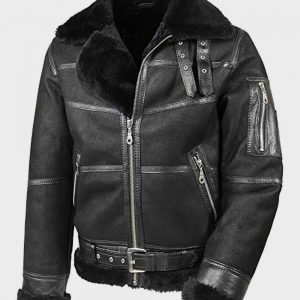 Mens Aviator B16 Sheepskin Jacket | Shearling Leather Jacket Mens