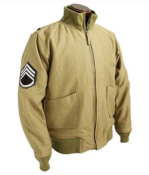 Brad Pitt Fury WW2 Military Jacket