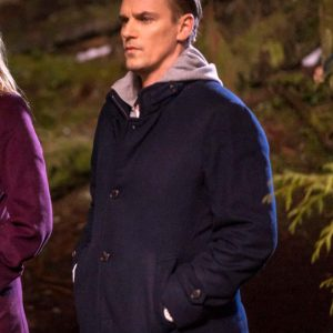 Scott Wolf TV Series Nancy Drew Carson Drew Wool-Blend Coat