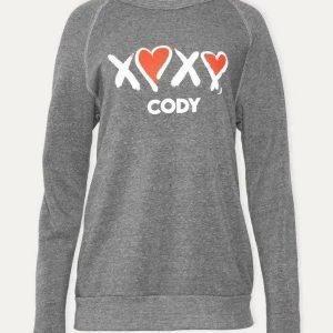 Crewneck-Unisex-XOXO-Cody-Sweatshirt