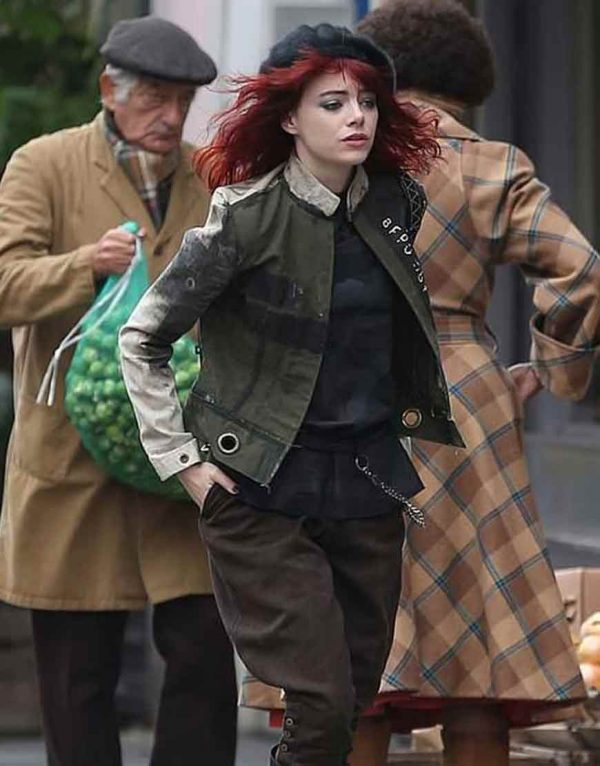 Cruella 2021 Cotton Jacket Emma Stone