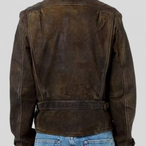 Skyfall James Bond Leather Jacket Daniel Craig Brown Jacket
