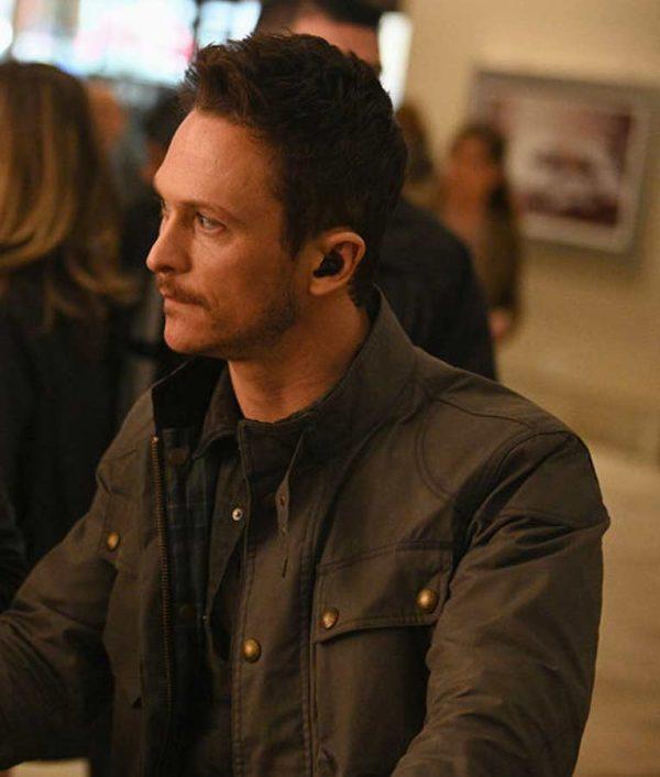 Bryan Beneventi TV Series Debris Jonathan Tucker Cotton Jacket