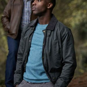 Tosin Cole TV Series Doctor Who Ryan Sinclair Cotton Jacket