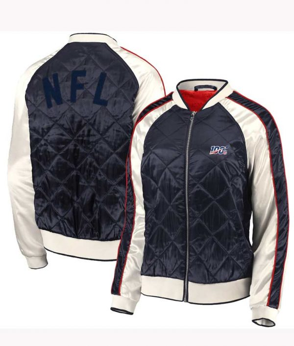Erin Andrews Quilted Bomber Jacket - Womens Wears Jacket