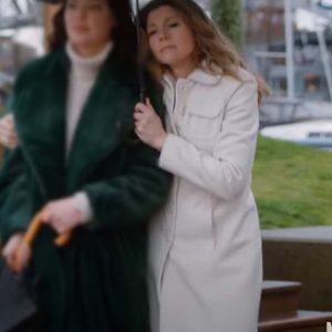 Sarah Chalke Firefly Lane Kate Mularkey White Coat