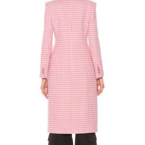Younger Season 07 Kelsey Peters Checkered Coat