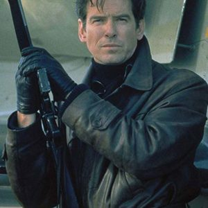 James Bond Tomorrow Never Dies Pierce Brosnan Leather Jacket