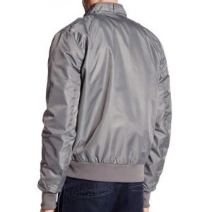 Steve Harrington Grey Bomber Stranger Things Season 2 Jacket