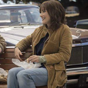 Winona Ryder Stranger Things Joyce Byers Corduroy Coat