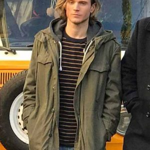Alex Kat And The Band Dougie Poynter Cotton Hooded Jacket