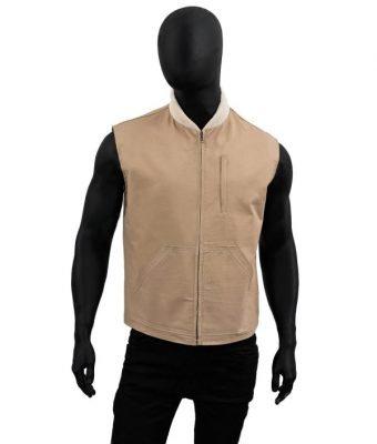Kayce-Dutton-Yellowstone-Luke-Grimes-Brown-Vest