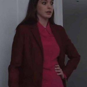 Anne Hathaway Locked Down 2021 Blazer | Linda Brown Blazer