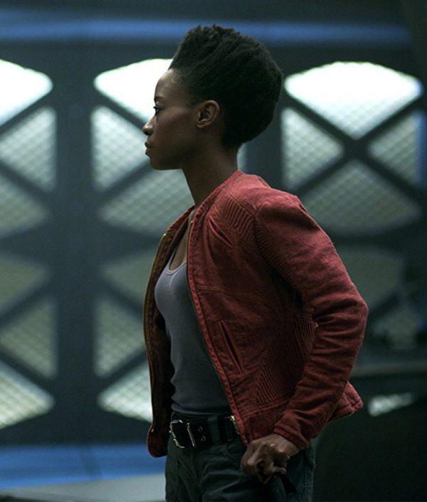 Angela TV Series Lost In Space Sibongile Mlambo Cotton Jacket