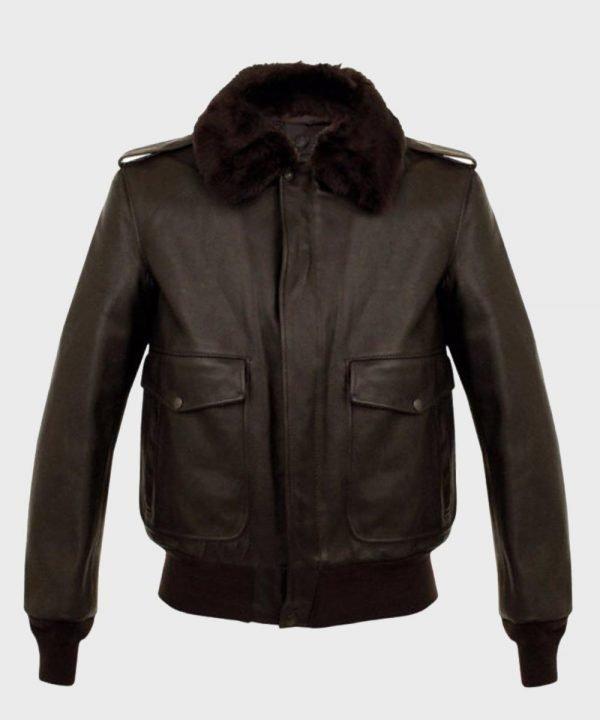 MensAviator Leather Jacket for Mens