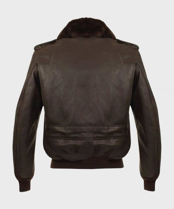 Mens A2 Brown Bomber Jacket | Aviator Leather Jacket for Mens