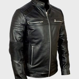 Classic Black Cafe Racer Mens