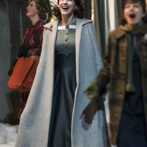 The Marvelous Mrs Maisel Miriam Maisel Grey Coat
