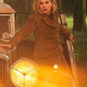 Rebecca Lily James Tweed Blazer Jacket