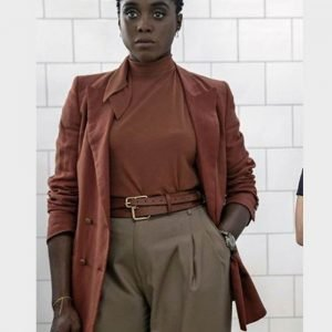 Nomi No Time to Die Lashana Lynch Coat | Nomi Cotton Coat
