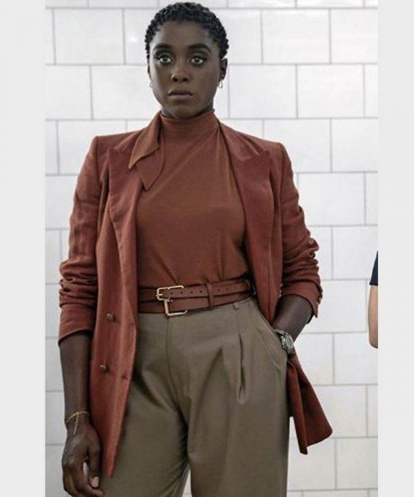 Nomi No Time to Die Lashana Lynch Coat | Nomi Cotton Coat