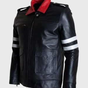 Peter Prototype Black Leather Jacket