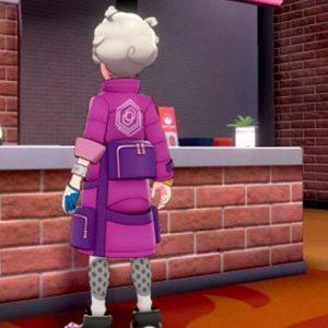 Pokemon Bede Cosplay Pink Jacket