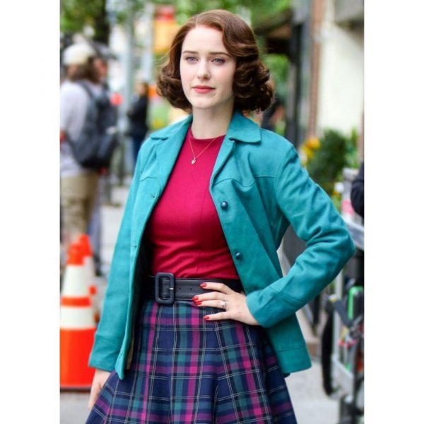 Rachel Brosnahan The Marvelous Mrs. Maisel Cotton Jacket