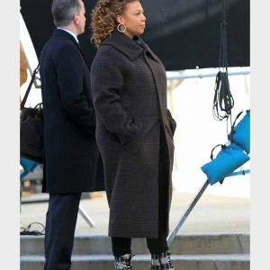 Queen Latifah The Equalizer 2021 Robyn McCall Black Long Coat