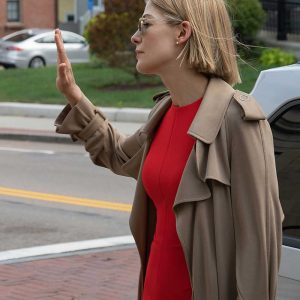Rosamund Pike I Care a Lot Trench Coat | I Care a Lot Marla Grayson Coat