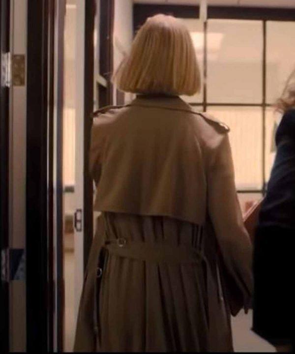 Rosamund Pike I Care a Lot Trench Coat | I Care a Lot Marla Grayson Coat