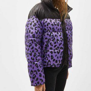 Love Life Leopard Puffer Jacket Sara Yang Leopard Puffer Jacket