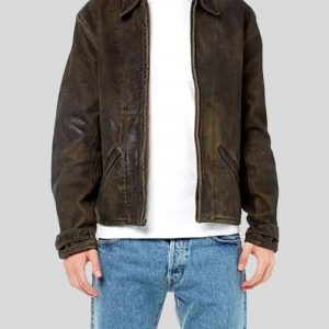 Daniel Craig Skyfall James Bond Brown Leather Jacket