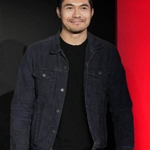 Snake Eyes 2021 Henry Golding Black Denim Jacket