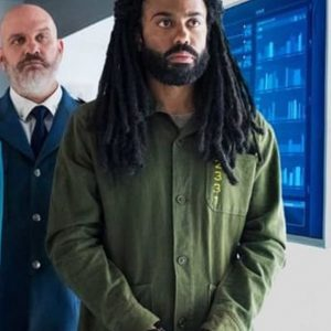 Andre Layton Snowpiercer Daveed Diggs Green Cotton Jacket