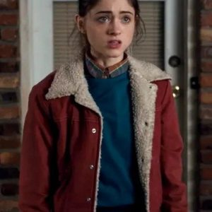 Nancy-Wheeler-Stranger-Things-Red-Fur-Jacket (1)