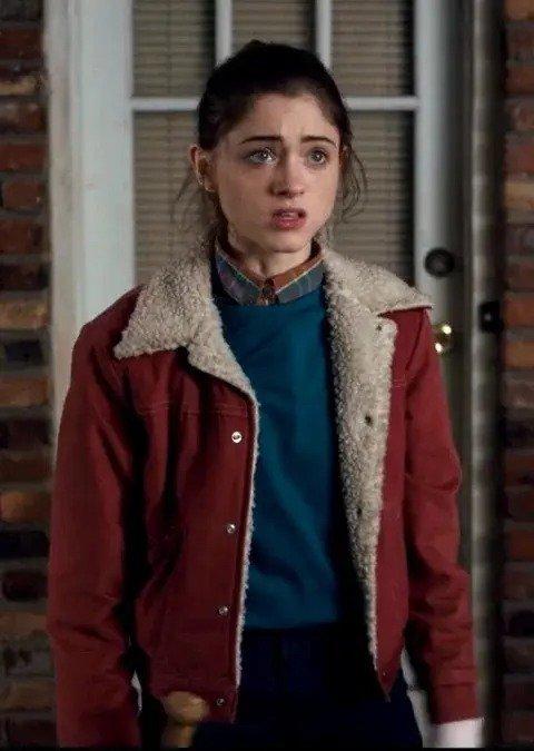 Nancy-Wheeler-Stranger-Things-Red-Fur-Jacket (1)