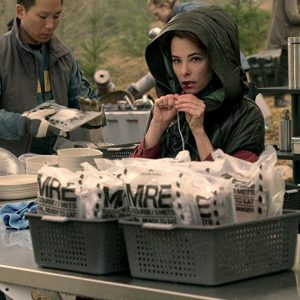 Parker Posey Lost In Space Hooded Jacket