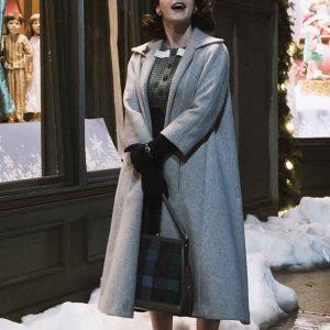 Miriam Maisel The Marvelous Mrs Maisel Rachel Brosnahan Grey Trench Coat