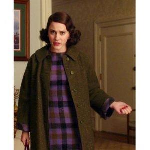 The Marvelous Mrs. Maisel Rachel Brosnahan Black Coat | Miriam Maisel