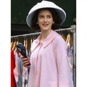 The Marvelous Mrs. Maisel Miriam Maisel Light Pink Coat